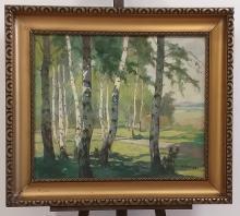 Kalvoda Alois: Birch forest