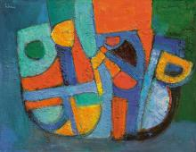 Liner Carl, 1914-1997, Abstraction