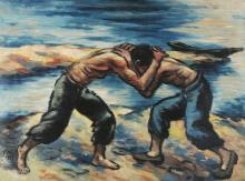Masereel Frans, 1889-1972, La lutte