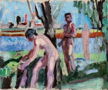 Gubler Max, 1898-1973, Badende