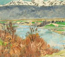 Berger Hans, 1882-1977, Rhône et Jura