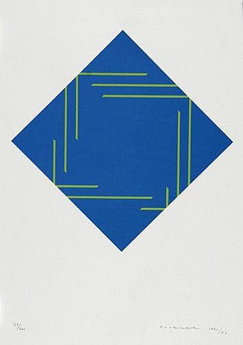 Yoshikawa Shizuko: Untitled, 1990/93 Silkscreen