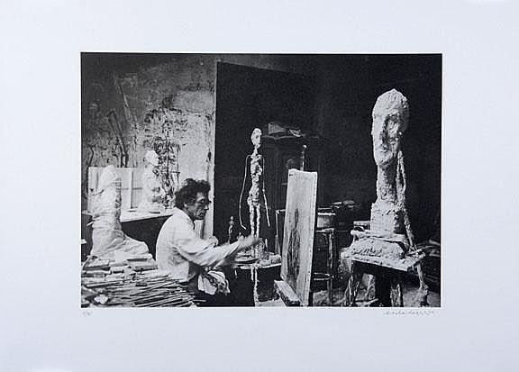 Scheidegger Ernst: Giacometti Grande Tête de