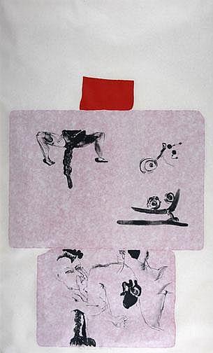 Clemente Francesco: Peso, 1982/83: Lithograph