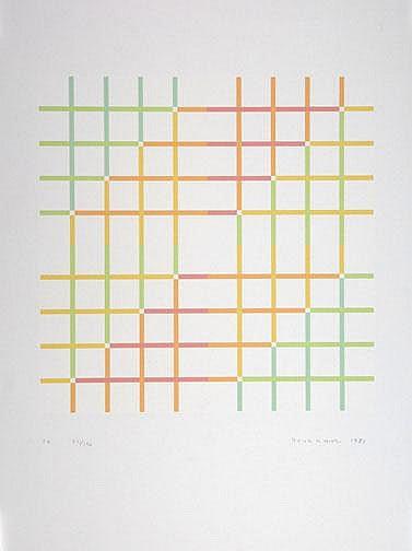 Yoshikawa Shizuko: S 4, 1983: Silkscreen printed
