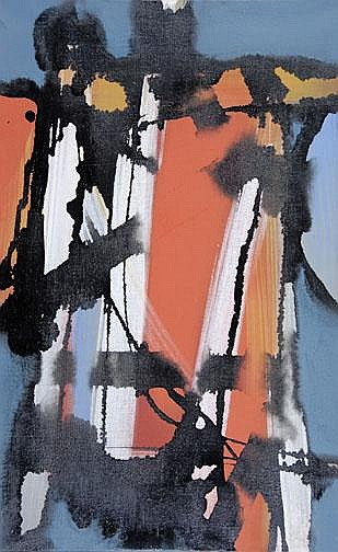 Fedier Franz: Untitled, 1962:  Oil on canvas