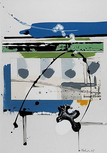 Fedier Franz: Untitled, 1965: Mixed media and
