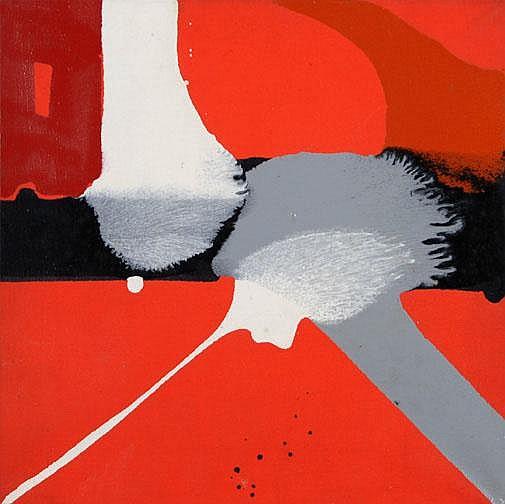 Fedier Franz: Untitled, 1965:  Oil on canvas