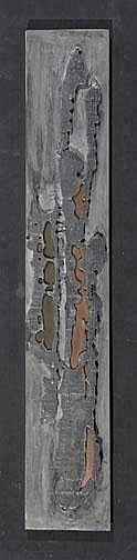 Fontana Annemie: Relief: Pewter on painted plywood