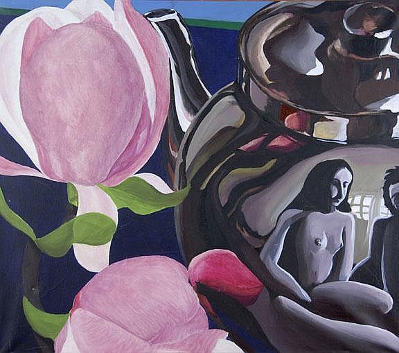 Knecht Fred Engelbert: Magnolienblüten, 1970/75: