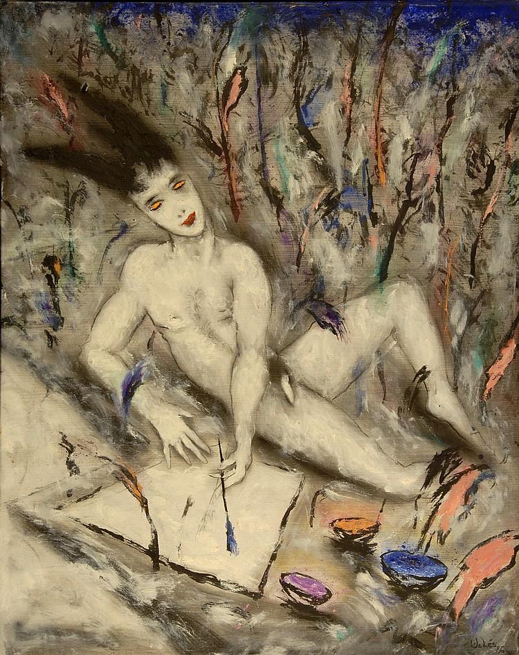 Ucles Josep - Pintor japonés, 1986