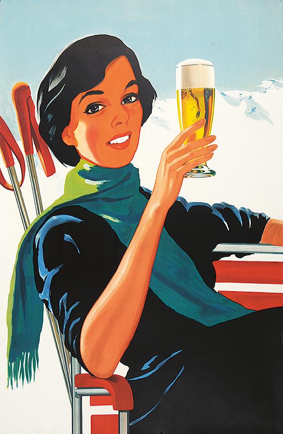 Пиво для хорошей компании постер