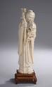 Sage Taoïste. Ivoire. Chine. Dynastie Qing. 19 ème siècle.  Ht23 cm