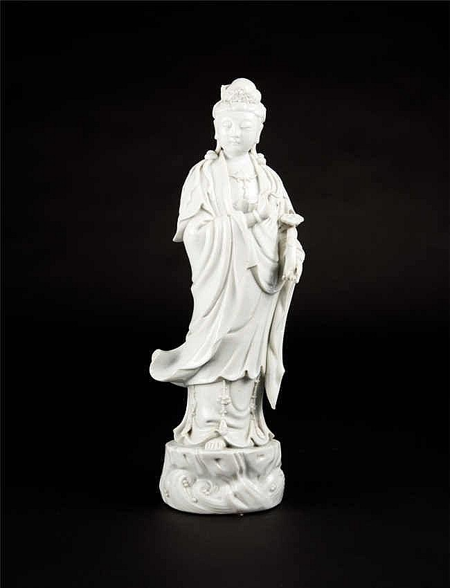 Republic Period Blanc de Chine Guanyin 民国德化观音