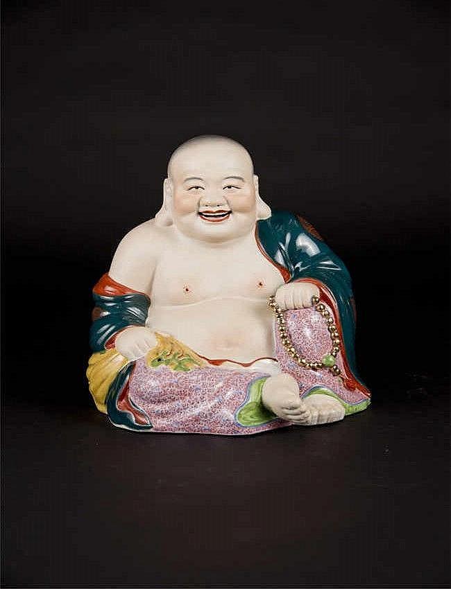 Laughing Maitreya 刘少奇 绿衣笑佛