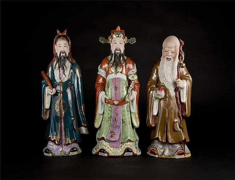 Figures of Three Immortals