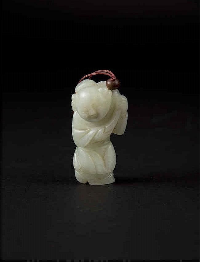Qing, Jade Figure