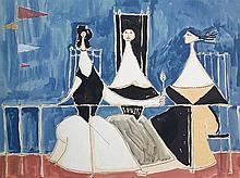 OSCAR DOMINGUEZ Lithograph Spainish Surrealism Spain
