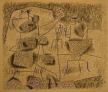 WILLI BAUMEISTER Lithograph German Art