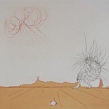 SALVADOR DALI Hand Signed Etchings Surrealism
