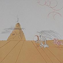 SALVADOR DALI Hand Signed Etching Surrealism Spanish 1980