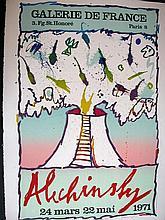 PIERRE ALECHINSKY Lithograph Cobra