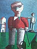 INOS CORRADIN Signed Oil Painting Brazilian Art, Inos Corradin, Click for value