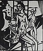 HEINRICH CAMPENDONK Hand Signed Woodcut Expressionism German 1918
