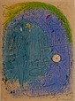 CHAGALL H.Signed Lithograph Mother and Child 1952