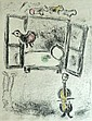 MARC CHAGALL Hand Signed Etching Russian French Edition of 25