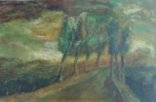 Yitzhak FRENKEL-FRENEL Signed Painting  Russian French Israeli