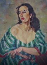Alexandre BERLANT Signed Painting 1954 French Ecole de Paris