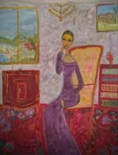 CHANA MORGENSZTERN Signed Painting Polish  French Ecole de Paris