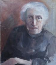 HIDDE AXTMEYER Signed Painting Austrian French Ecole de Paris