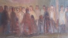 Louis LILLE Signed Painting Polish French Ecole de Paris