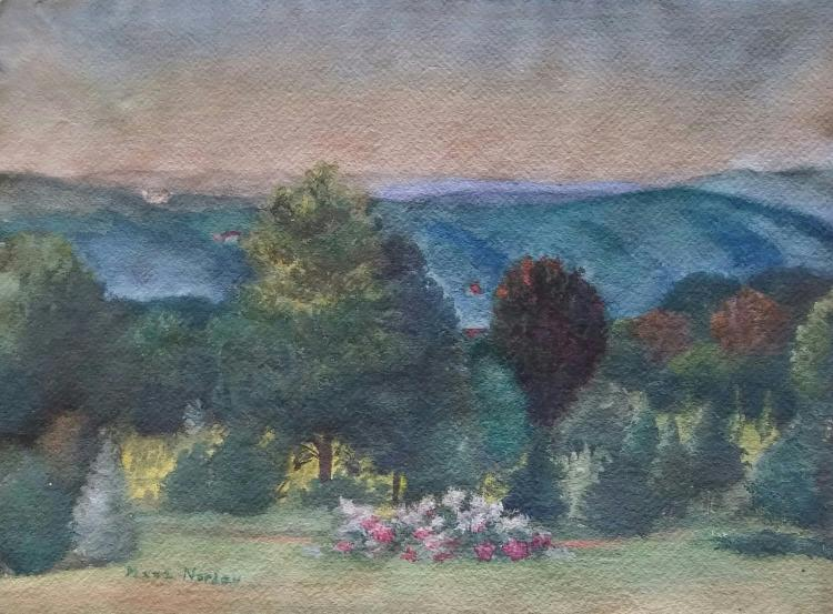 MAXA NORDAU Signed Painting French Ecole de Paris