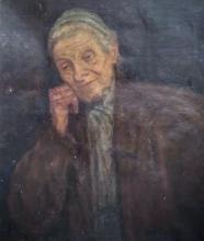MENDEL EFRAIM  Signed Painting Jewish French Art Ecole de Paris