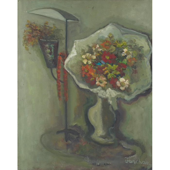 STERA BARCHAN Signed Painting Polish French Ecole de Paris