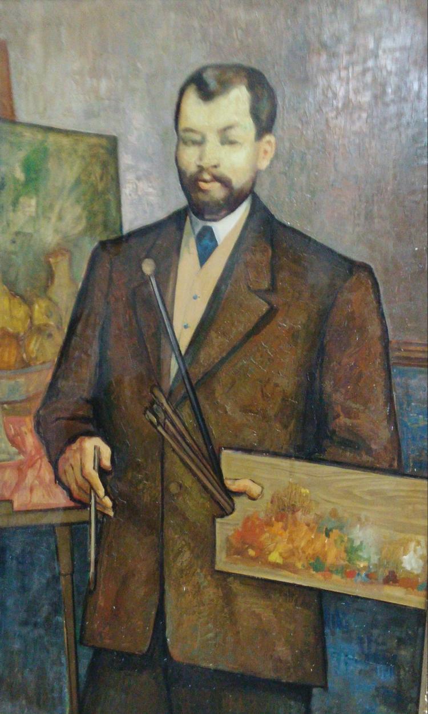 DAVID MURGINSKI Signed Large Painting Polish Ecole de Paris