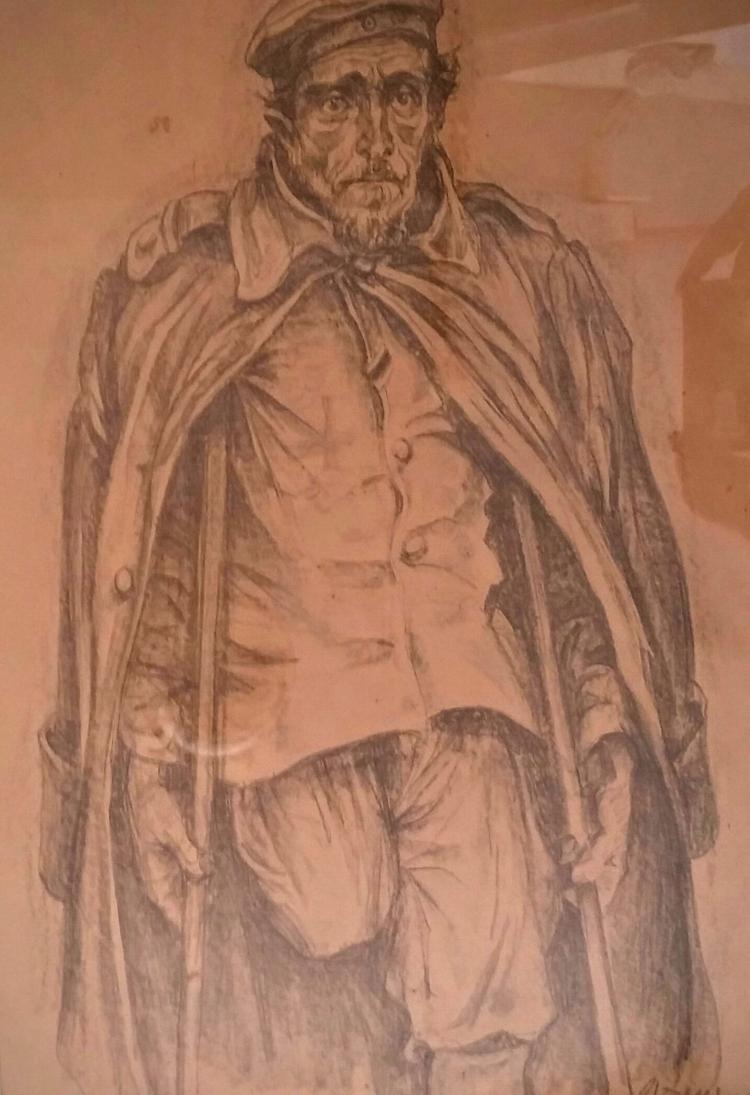 WILHELM WACHTEL  Two Signed Lithographs Polish Art