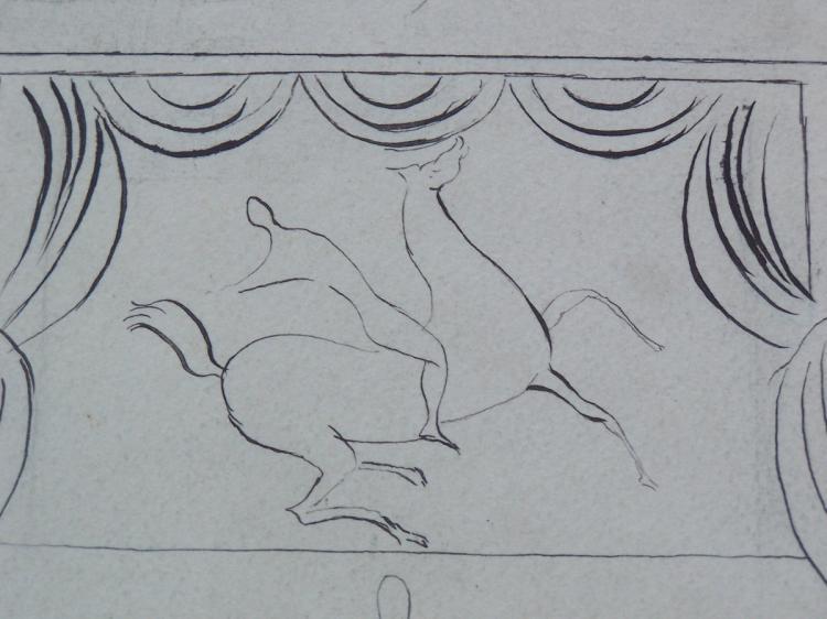 SERGE FERAT Drawing Circus French