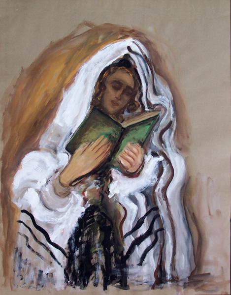 MANE KATZ Painting Russian Art Ukrainian