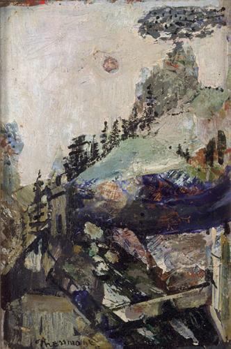 JOSEPH PRESSMANE Painting Russian Ukrainian