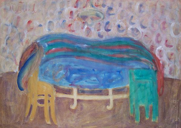 MAURICE BLOND Watercolour Russian Polish