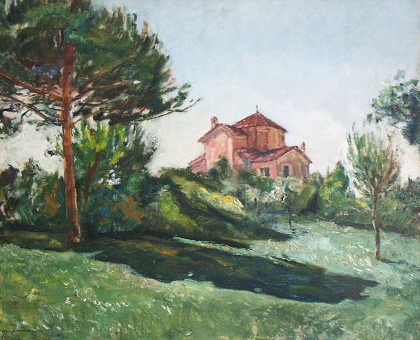 GUSZTAV MAGYAR-MANNHEIMER Oil Painting Hungarian Art