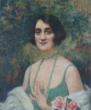 LEOPOLD PILICHOWSKI Painting Polish Art Judaica Realism