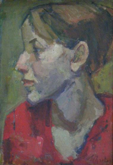 ZYGMUNT SCHRETTER Oil Painting Polish