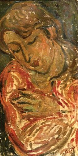 ZYGMUNT SIGMUND LANDAU Painting Polish French Art