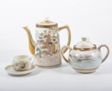 Japanese egg shell tea ware, quantity or part sets.