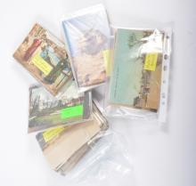 Postcards and Cigarette Cards, Circa WWI, military, comic, Malta, Egypt, In